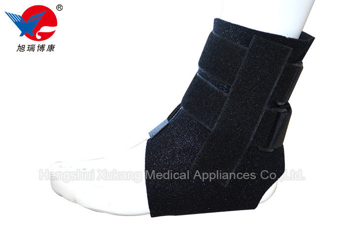 Strong Durable Left / Right Ankle Brace Neoprene Materials With High Strength Affinity
