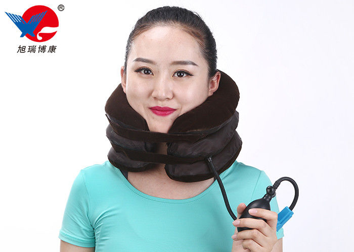 Velcro Protection Design Cervical Collar Neck Brace , Health Care Cervical Traction Collar
