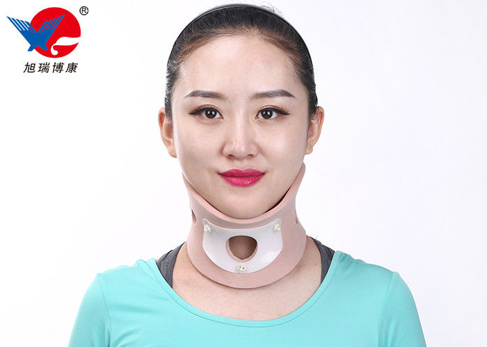 Small Volume Cervical Collar Neck Brace Easy To Wear Throat Opening For Tracheotomy