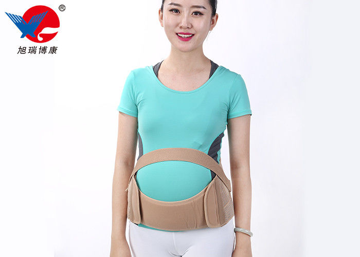Reusable S / M Pregnancy Back Brace Preventing Abdominal Wall Laxity And Drooping
