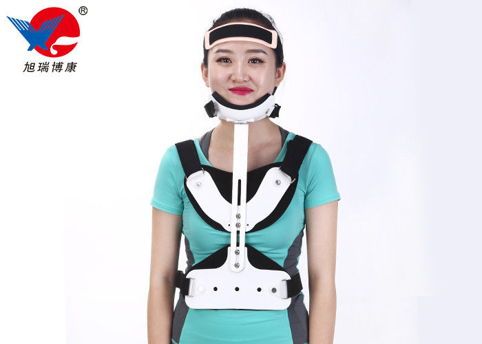 High Durability Comfortable Medical Orthosis , White And Black Lumbar Support Orthosis