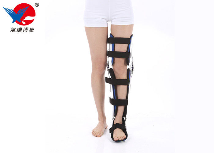 Stainless Steel Knee Ankle Orthosis Anti - Rotation Adjust Knee Bending Angle