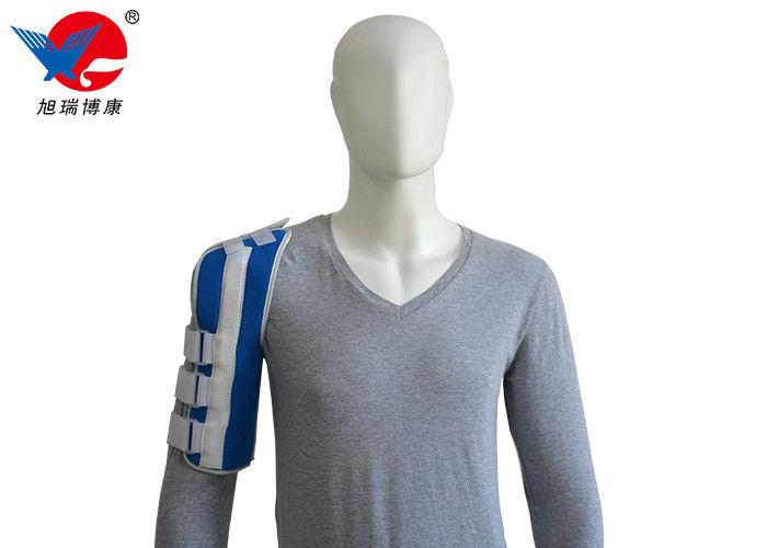 Blue Color Magnetic Shoulder Support Dual Adjustment Straps Provide Customized Fit